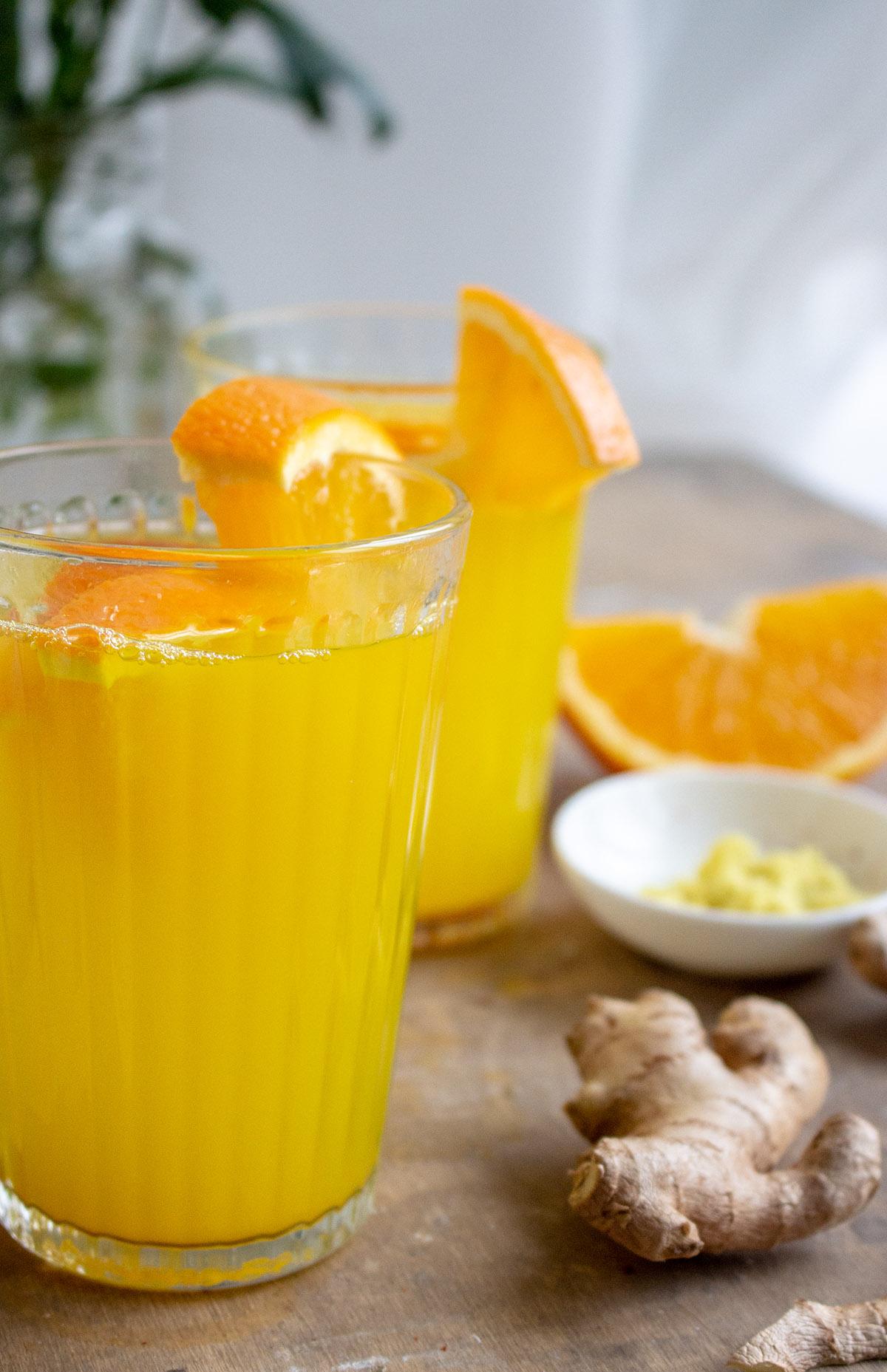 Ingwertee, Ingwer-Orangentee, OMI-TEE, Erkältungstee
