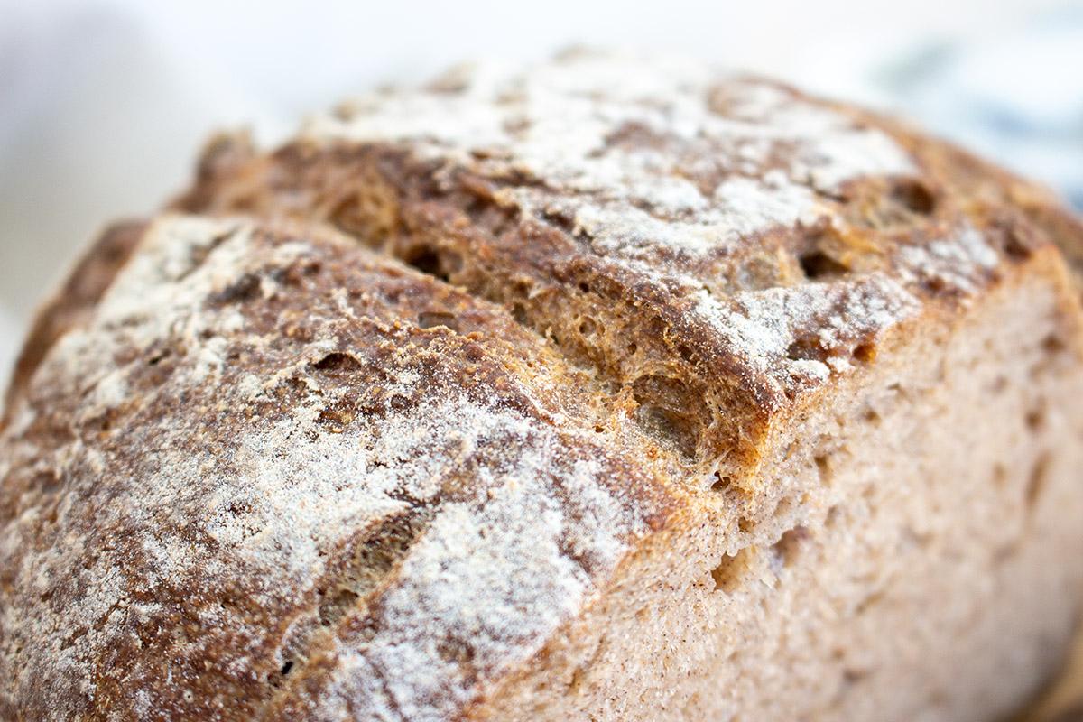 glutenfreies Buchweizenbrot, gluten free sourdough bread, buckwheat bread