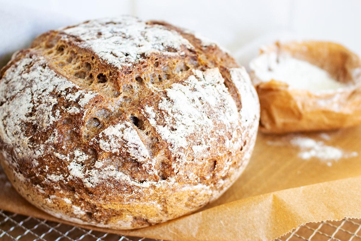 glutenfreies Sauerteigbrot, gluten free sourdough bread